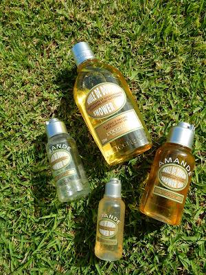 L'Occitane Almond Shower Oil - www.modenmakeup.com