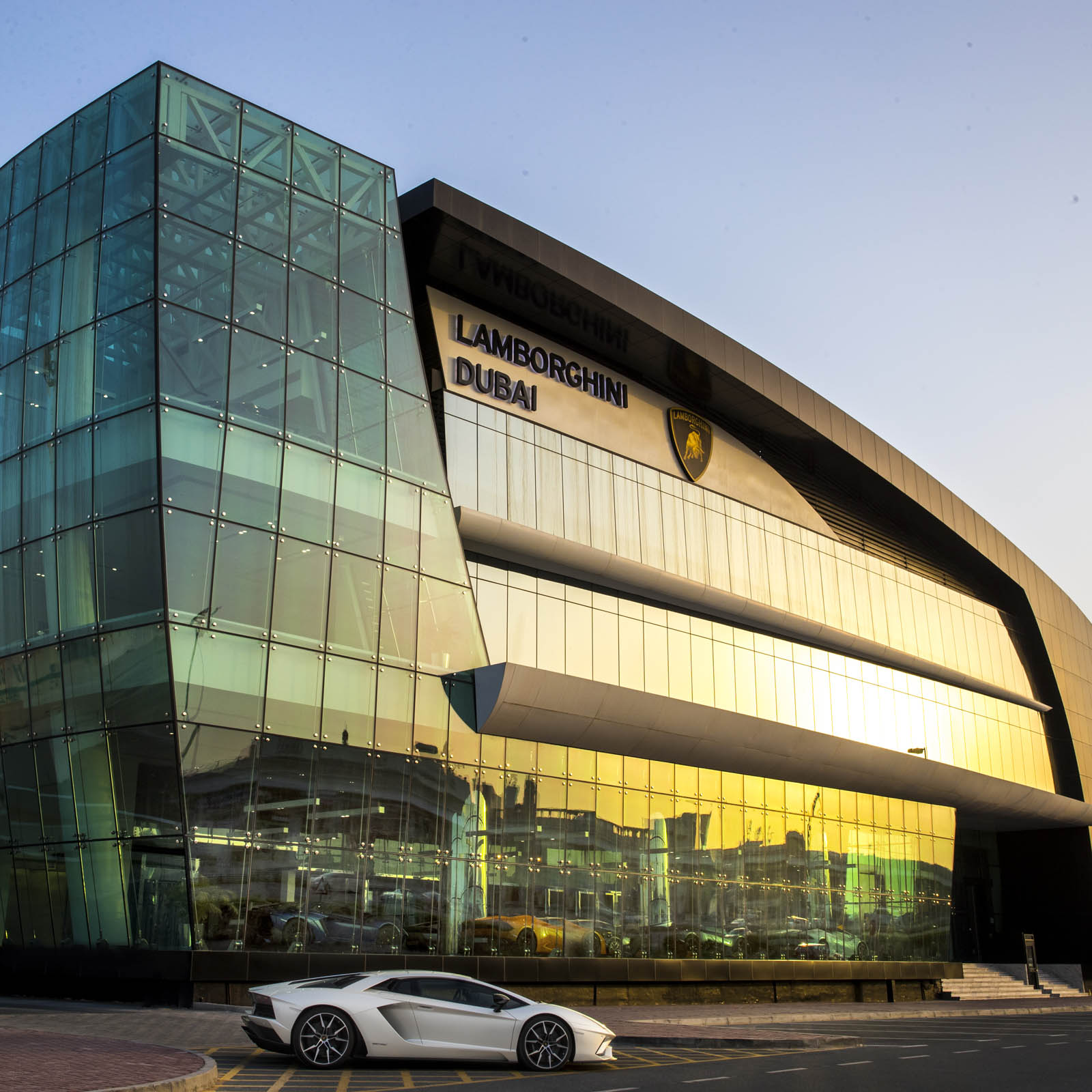 Lamborghini Dealership: Lamborghini Just Opened Its Largest Showroom Yet