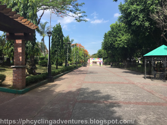 Rizal Park walk way