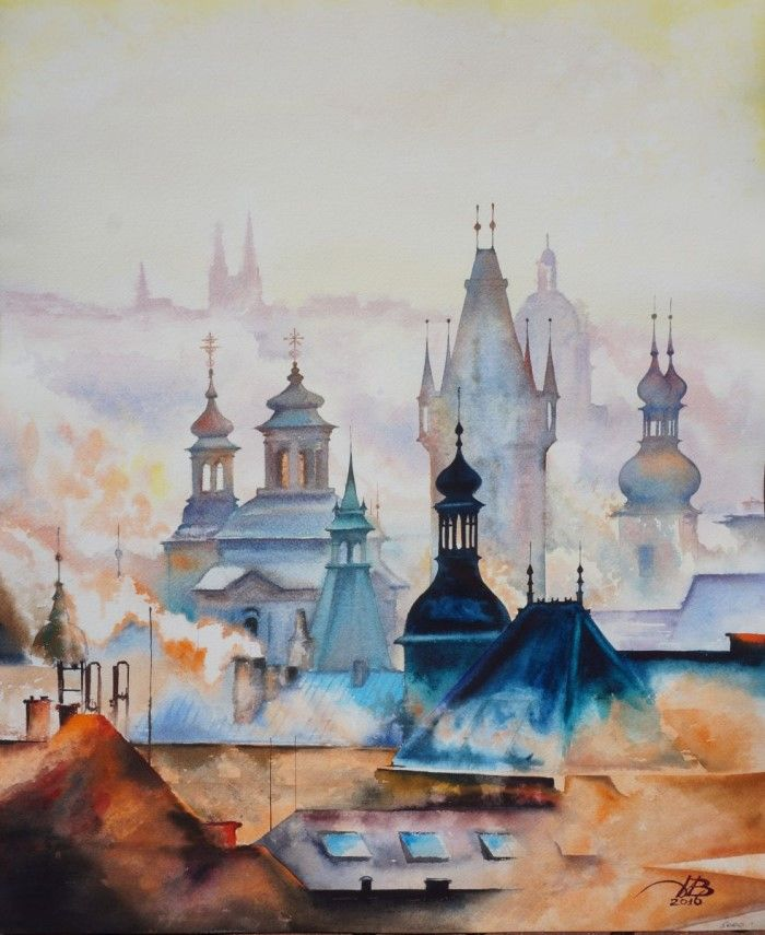 Акварельная живопись. Игорь Дубовой