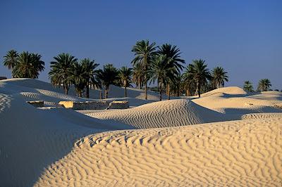 Douz Ville en Tunisie