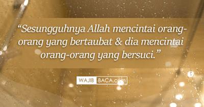 Bacaan Doa Istinja Lengkap Arab, Latin dan Artinya