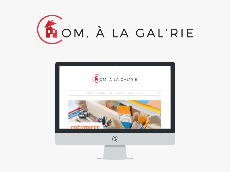 Design : Com. A La Gal'rie