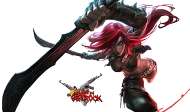 Render Katarina + League of legends