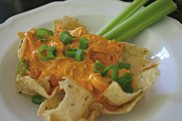 Crockpot Hot Wing Dip is a simple recipe with tons of flavor. Serve it on sandwiches buns or over tortilla chips at your next party, summer barbecue, or on game night. It reheats great and tastes delicious with a cold beer.
