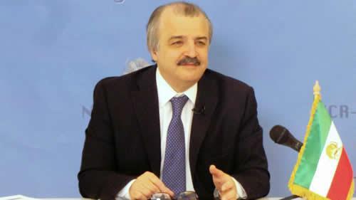 محمد محدثین مسئول کمیسیون روابط خارجی شورای ملی مقاومت ایران