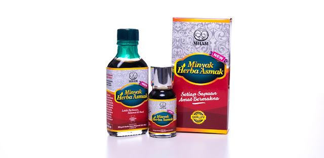 Minyak Herba Asmak Penawar Asma