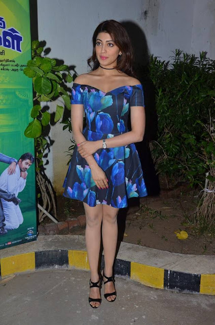 Pranitha Stills At Enakku Vaitha Adimaigal Audio Launch