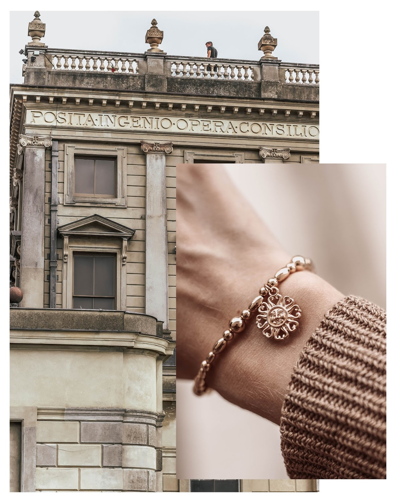 Chlobo Ariella Collection Gold Bracelet