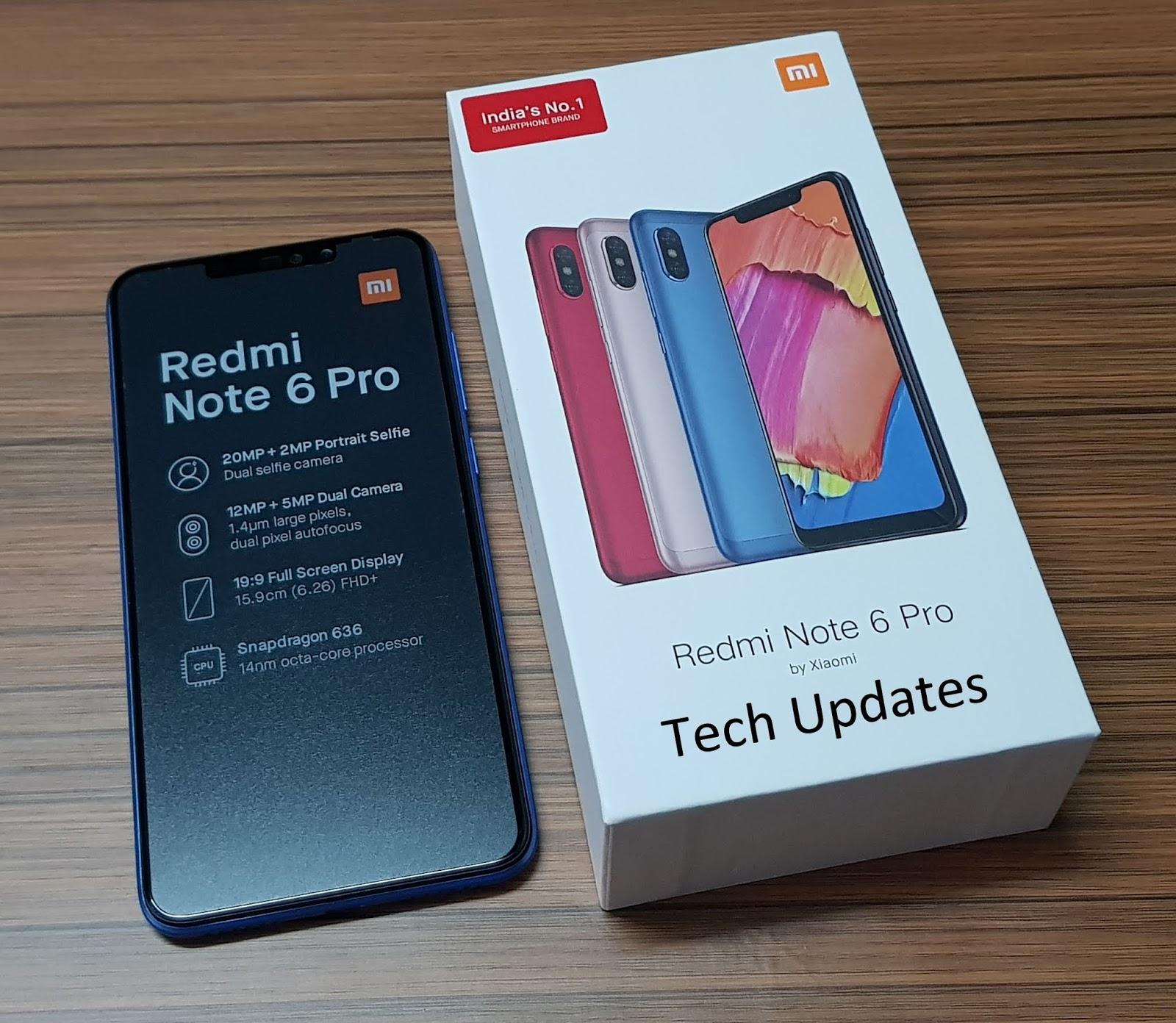 Xiaomi Redmi Note 6 Pro Tips, Tricks, Pros, Cons - Tech Updates
