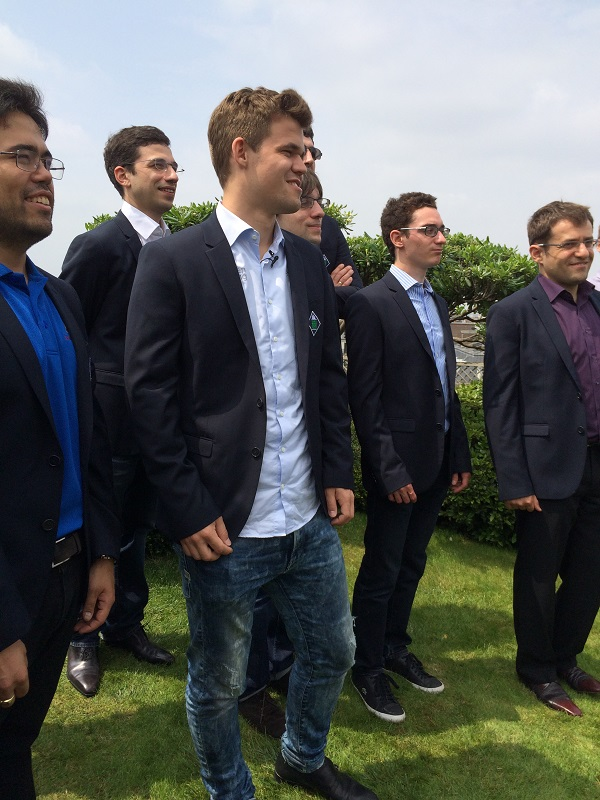 Les 10 joueurs du Grand Chess Tour de Paris