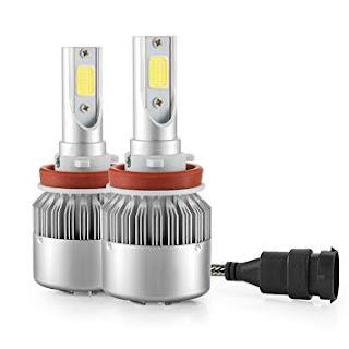 coppia lampada led auto fari h11 foyu