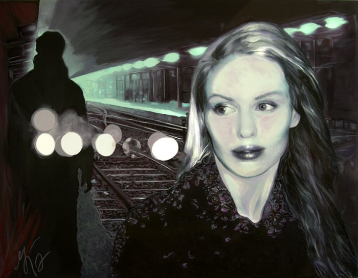 Картины в стиле американский нуар. Gina Higgins