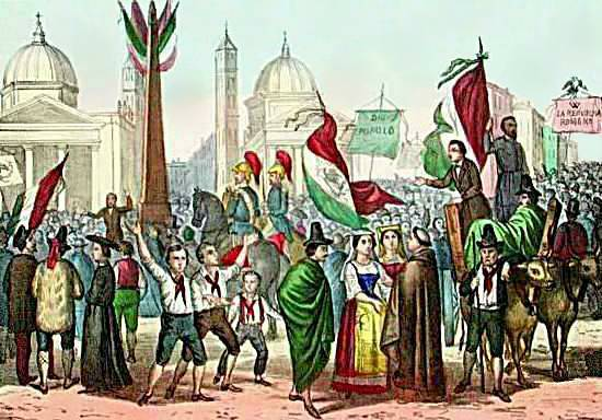 Proclamation of Italy