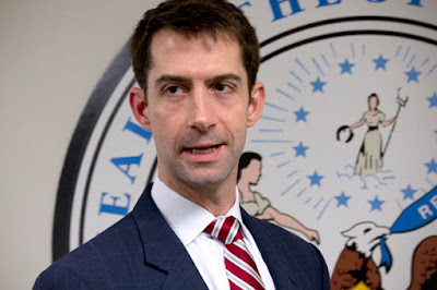 Republican Sen. Tom Cotton warns of Republican health bill