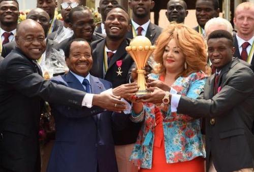 """اولادبرحيل24...رئيس الكاميرون: بَلدنا ستكُون جاهِزة لاستضَافة """"كان 2019"""".. والتزامُنا بِها واضِح"""