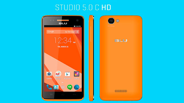 rom stock BLU Studio 5.0 C HD D534U