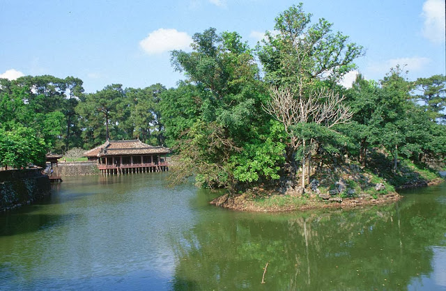 And quiet flows the Huong River 6