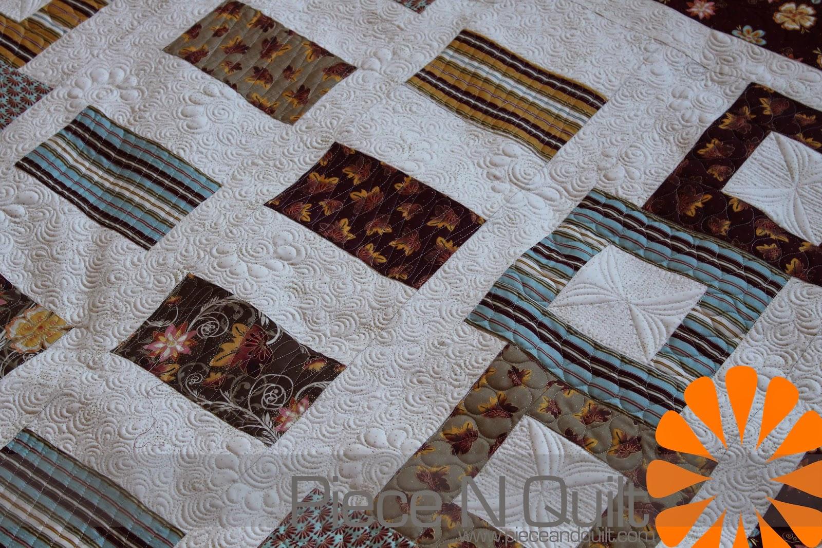 Quilting Patterns Tumbling Blocks : Piece N Quilt: Tumbling Blocks - Custom Machine Quilting