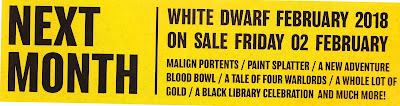 White Dwarf febrero 2018