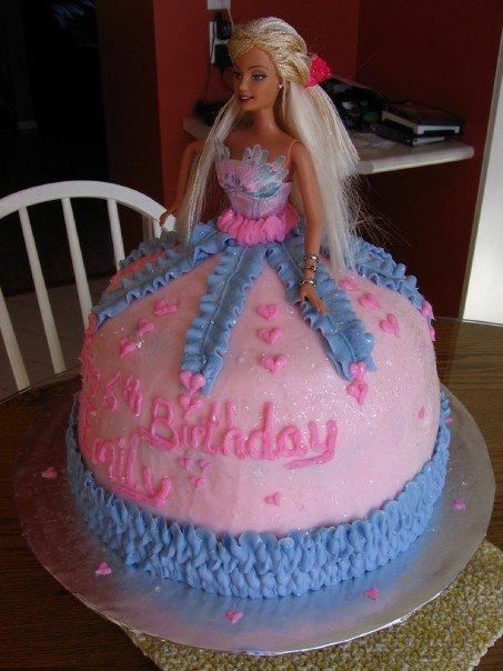 Barbie Bundt Cake