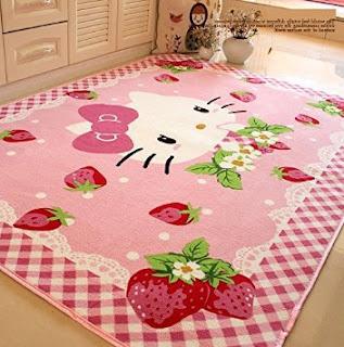 Gambar Karpet Hello Kitty yang Lucu 4