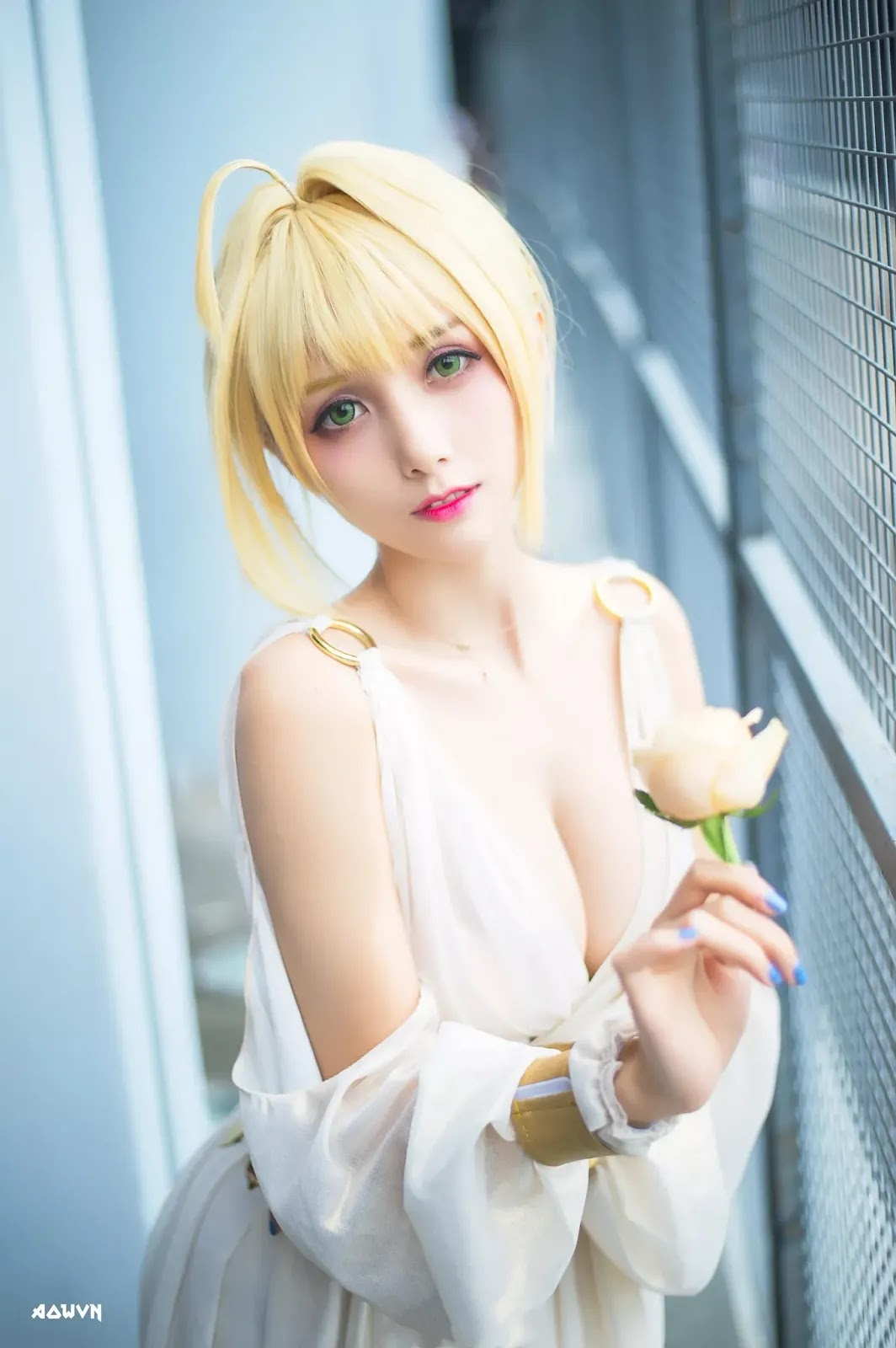 AowVN.org minz%2B%25288%2529 - [ Cosplay ] Nero - Saber anime Fate by Xia Mei Jiang tuyệt đẹp | AowVN Wallpapers