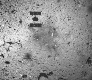 Hayabusa 2: Asteroid image shows touchdown marks