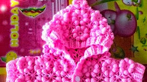 """Como tejer el punto """"flor"""" al crochet paso a paso en video"""