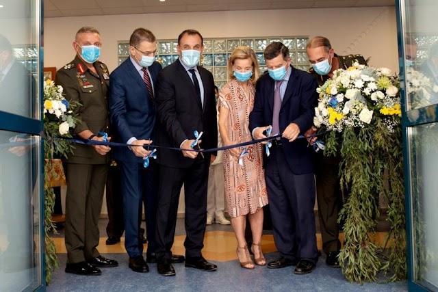 Τη νέα νοσηλευτική μονάδα του 401 ΓΣΝΑ εγκαινίασε ο ΥΕΘΑ Ν. Παναγιωτόπουλος (BINTEO-ΦΩΤΟ)