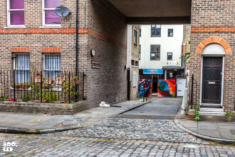 Mr Cenz - Brick Lane Street Art Mural, London