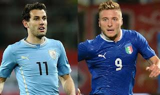 Italia vs Uruguay en Partido Amistoso Internacional