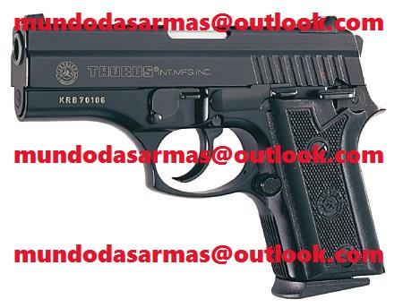 Pistola Taurus 938 oxidada