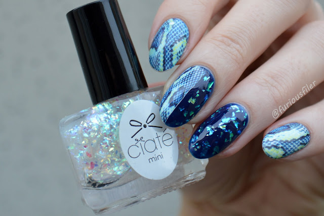 water decals animal print flakes holographic review anastazja