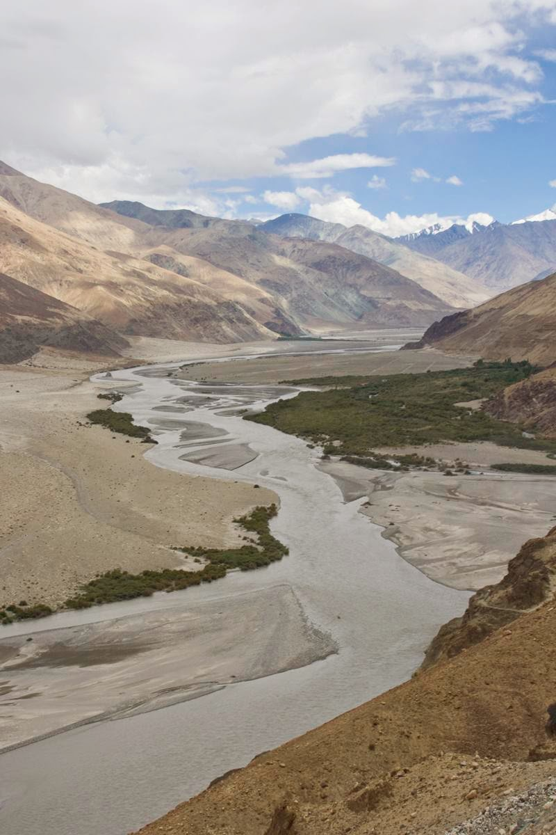 The Nubra River is a tributary of the Shyok River, which flows through the Nubra region of Ladakh, into the Indus River to the east of Skardu, Pakistan. The Siachen Glacier melts into this river.