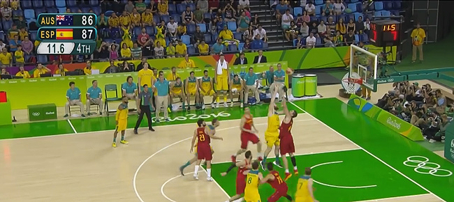 Spain vs. Australia - BRONZE Medal Game Full Highlights (VIDEO) Rio Olympics 2016 - Basketball