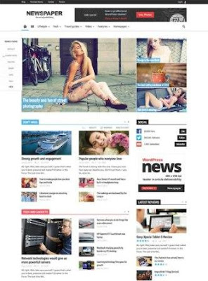 Newspaper WP Theme FREE DOWNLOAD