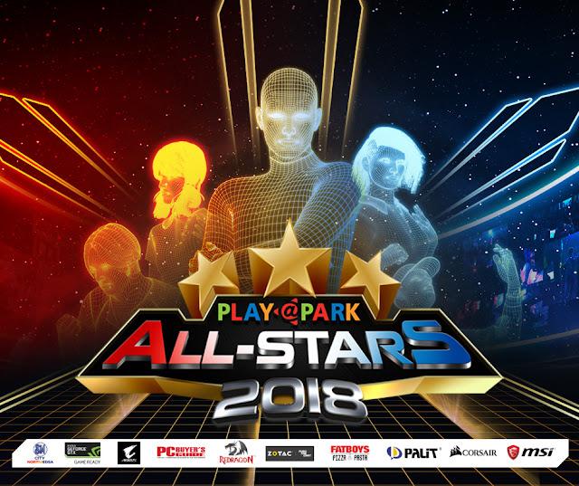 s biggest tournament series that will determine Philippines Games : Playpark All-Stars 2018 Finals : Details on Playpark's Biggest Tournament Series
