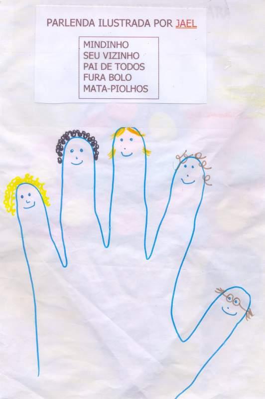 Caderno De Parlendas Ilustrado Aprender E Brincar