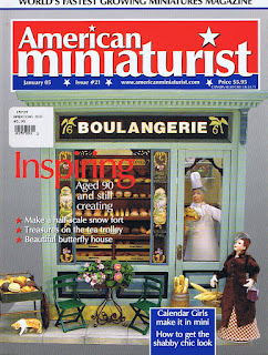 dollhouse miniature AM vol 21