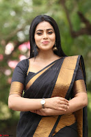 Poorna in Cute Backless Choli Saree Stunning Beauty at Avantika Movie platinum Disc Function ~  Exclusive 127.JPG