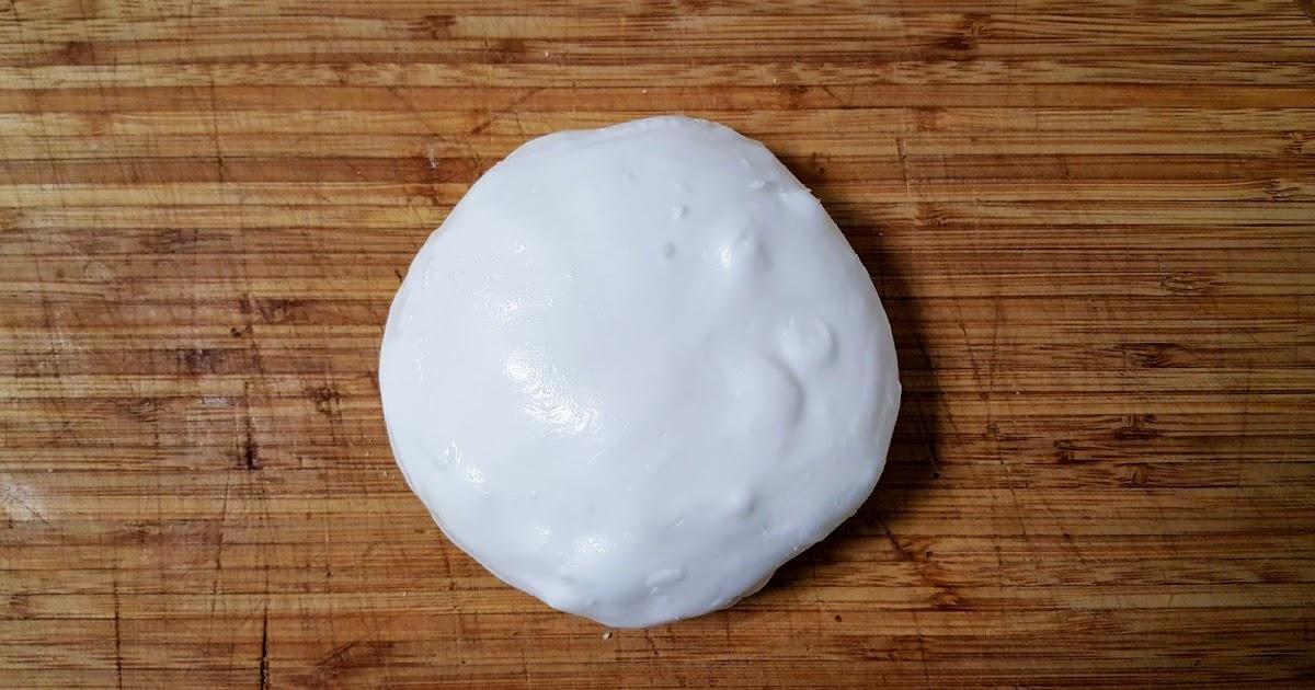 Fondant pâtissier blanc pour glaçage fait maison