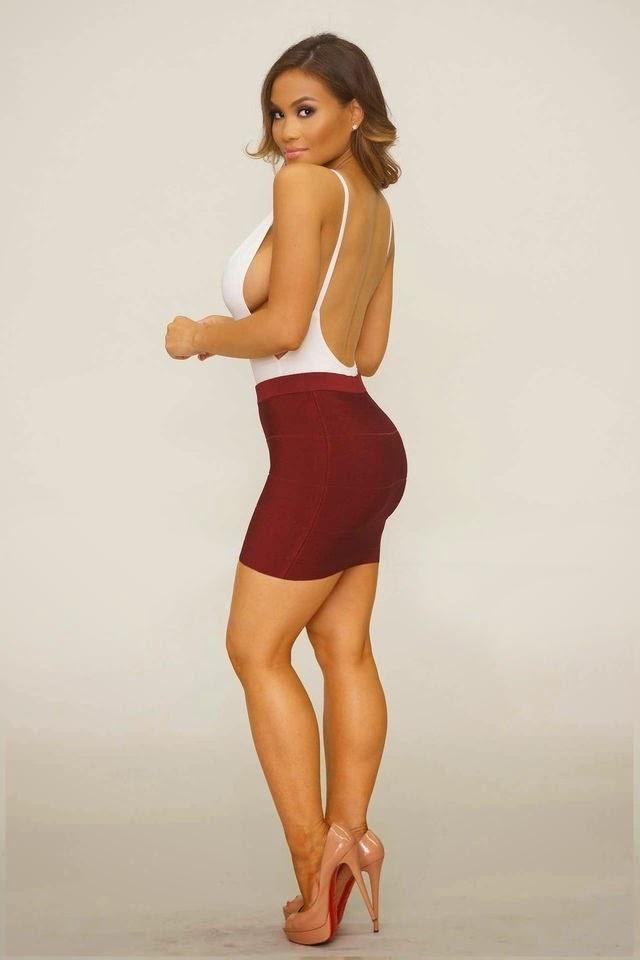 Skirt and Dress Candids -