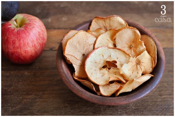 como fazer chips maçã