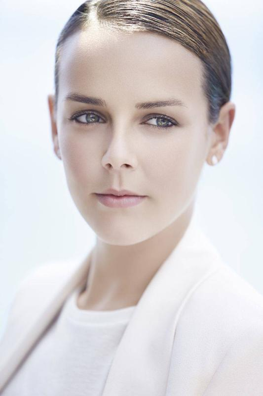 An undeniable beauty, elegant and refined, the daughter of Princess Stéphanie of Monaco