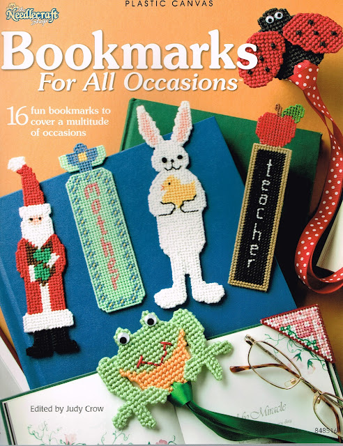 Plastic Canvas Bookmarks for All Occasions book