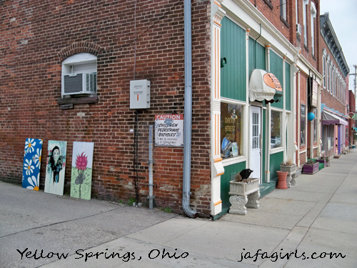 Dayton Street, Yellow Springs, ohio