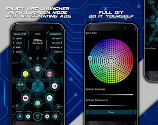 Arc Launcher Pro-HD Themes,Wallpapers,Booster v9.9 build 88 Patched APK is Here!