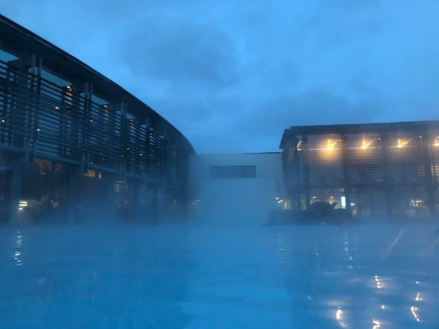 De noite na Blue Lagoon