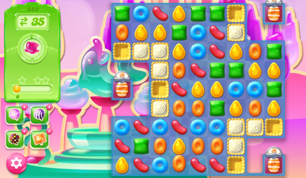 Candy Crush Jelly Saga 283